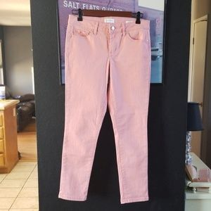 Jessica Simpson rolled crop skinny jean size 28